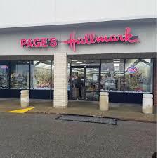page's halmark shop