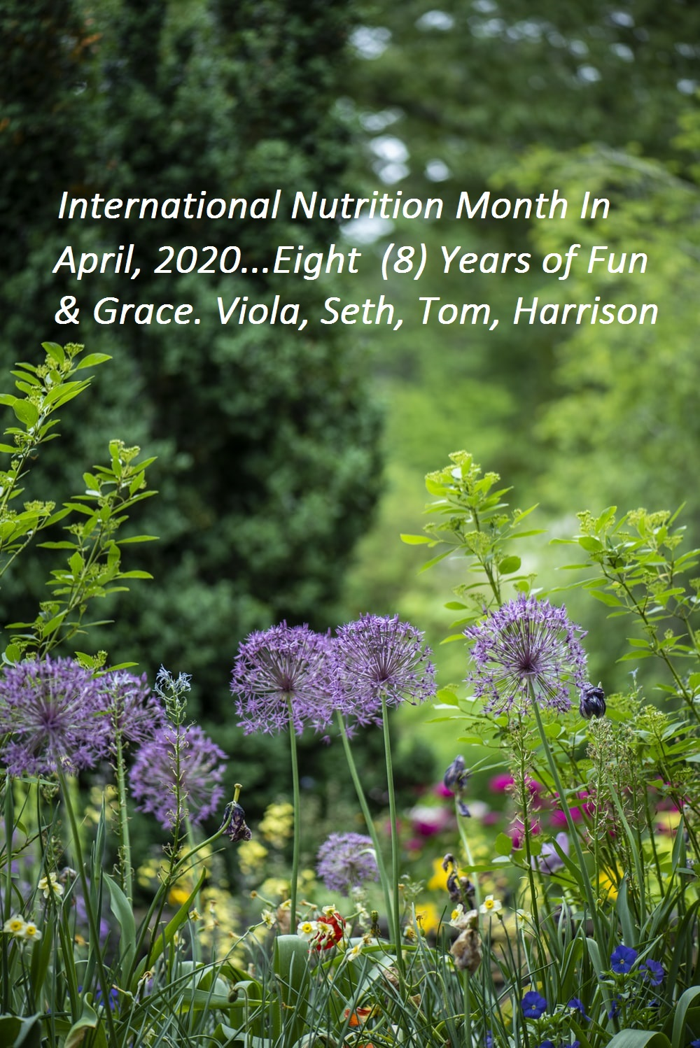 celebrating international nutrition month is april 2020 from 2013